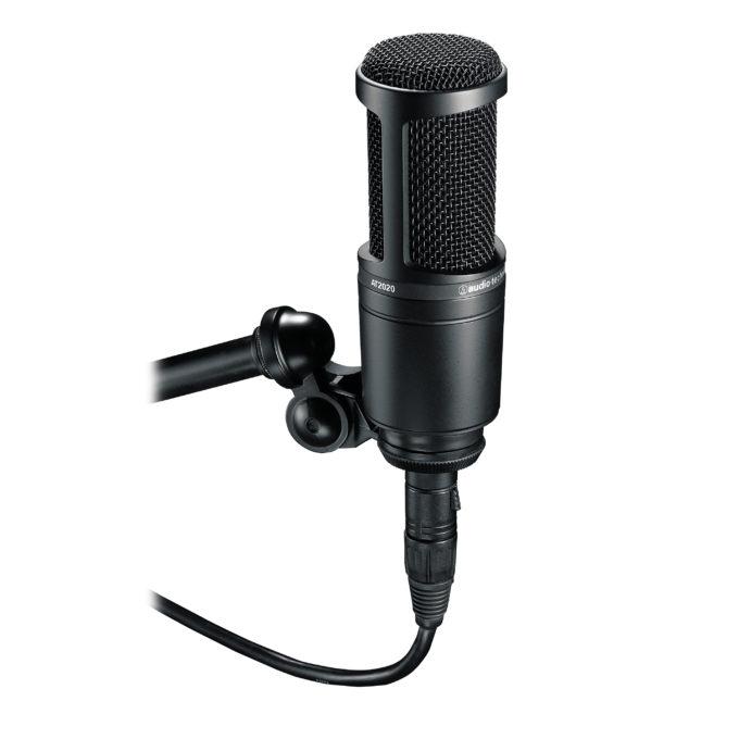 Audio-Technica AT2020 Cardioid Condenser